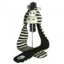 Zippy the Zebra Scarf Hat - čepice s šálou zebra (mladí/dospělí)
