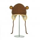 Crochet Monkey - zvířecí čepice (děti)