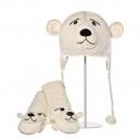 Peewee The Polar Bear - zvířecí čepice (dospělí)