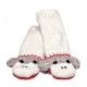 Cute Sock Monkey šedá - zvířecí čepice (dospělí)