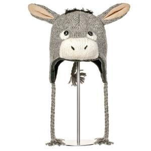 Dwayne The Donkey - zvířecí čepice oslík (mladí/dospělí)