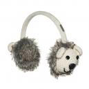 Crochet Polar Bear - klapky na uši lední medvěd (mladí/dospělí)