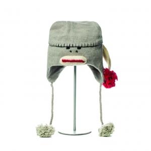 Long Cap Sock Monkey - zvířecí čepice opice dlouhá čepice (mladí/dospělí)