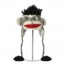 Punk Rock Sock Monkey - zvířecí čepice punk rock opice (mladí/dospělí)
