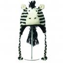 Zippy the Zebra - zvířecí čepice zebra (mladí/dospělí)