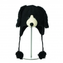 Floppy Dog - zvířecí čepice černý pejsek (mladí/dospělí)