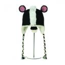 Crochet Skunk - zvířecí čepice skunk (děti)