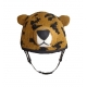 Leonis the Leopard - zvířecí potah na helmu leopard