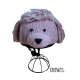 Precious the Poodle - potah na helmu pejsek pudlík