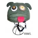 Mortimer the Monster - zvířecí potah na helmu příšerka Mortimer