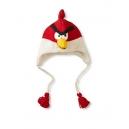 Flying Bird - zvířecí čepice červený létající pták (mladí/dospělí)
