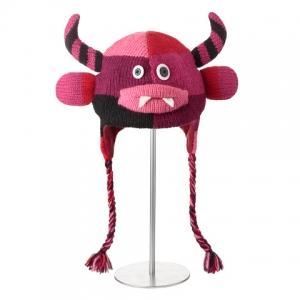 Maddox the Monster - čepice s růžovou příšerkou (děti)