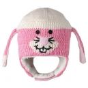 Pink Bunny - zvířecí čepice (mimča)