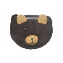 Babu the Black Bear - zvířecí taštička medvěd