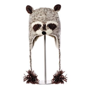 Robbie The Raccoon - zvířecí čepice mýval (mladí/dospělí)